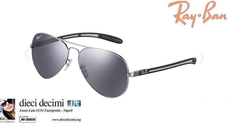 occhiali ray ban fibra di carbonio