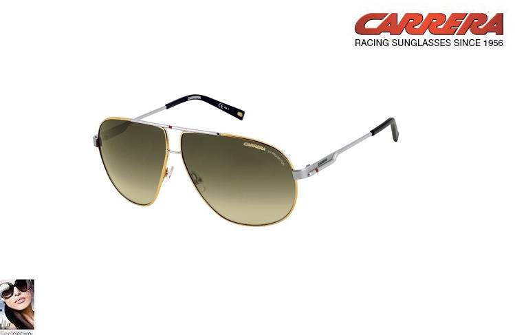 Occhiali da sole Carrera 7 metallo aviator unisex Ottica