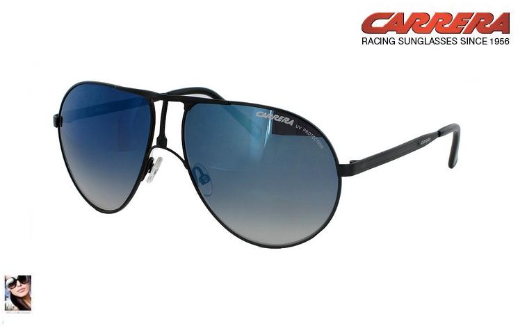 Carrera blu occhiali a specchio renato ricci musica - Occhiali specchio blu ...