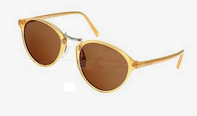 Winter's Hottest Sales on Havana & Blue Oval Sunglasses ...
