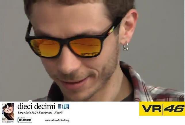 Oakley Frogskins Valentino Rossi