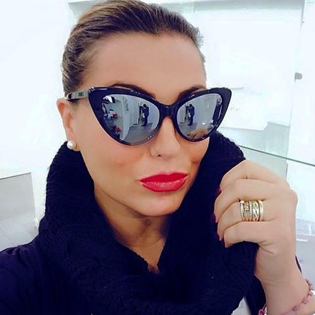 Esalta la tua femminilita con gli occhiali da sole eva di spektre ottica dieci decimi napoli - Occhiali da sole specchiati spektre ...