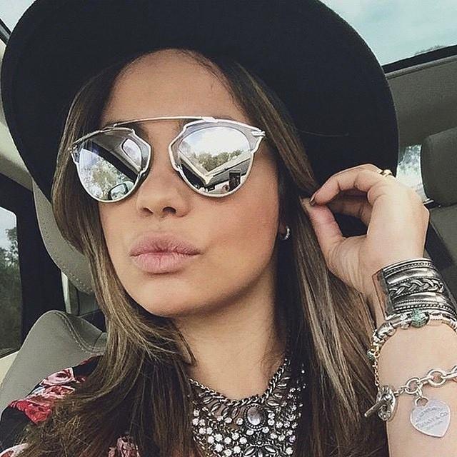occhiali da sole christian dior so real il lato glamour. Black Bedroom Furniture Sets. Home Design Ideas